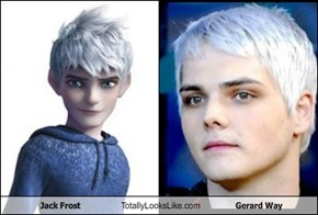 Jack Frost Totally Looks Like Gerard Way