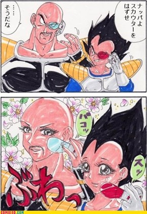 Nappa, Remove Your Scouter
