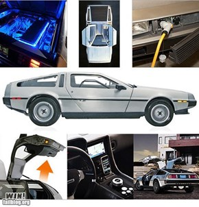 WTF! WIN! Electric DeLorean !!!