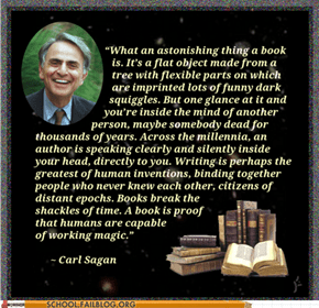 Words of Wisdom: More Advice from Sagan