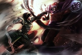 Fandom Base: Magneto Meets His Match