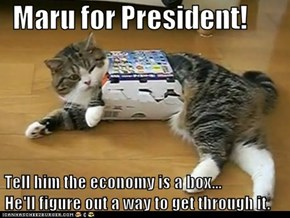 Maru for Prez!