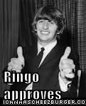 Ringo approves