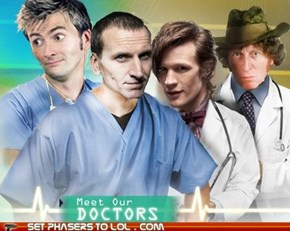 Doctor Who MD?