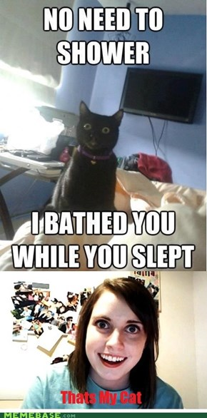 Tell Me Who You're Sleeping Next To. Right Meow.