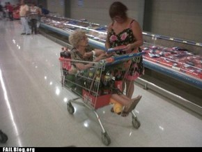 Grocery Shopping FAIL