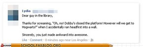 Maybe Dobby Actually Did Close the Door!