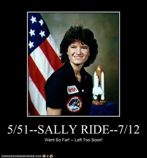 5/51--SALLY RIDE--7/12