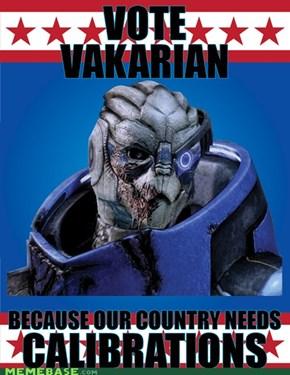 VOTE VAKARIAN