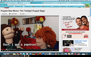 Puppet New Moon: The Twilight Puppet Saga (Search via YouTube SpookyDan)