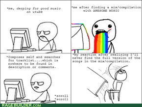 Music trolls on youtube