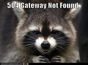 504 Gateway Not Found