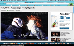 Twilight Puppet Saga - Search in YouTube (SpookyDan)