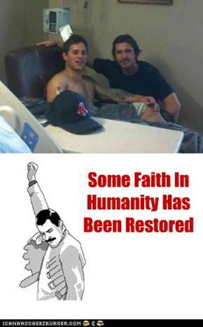 Some Faith In Humanity Has Been Restored