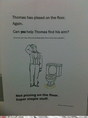 Thomas Can't Do Anything Right