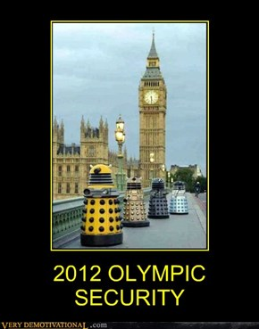 2012 OLYMPIC SECURITY