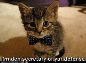 i'm deh secretary of yur defense