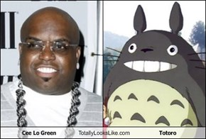 Cee Lo Green Totally Looks Like Totoro