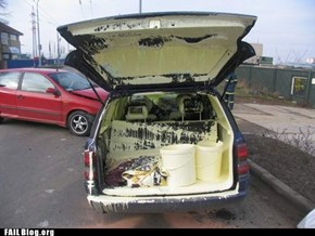 Transporting Paint FAIL