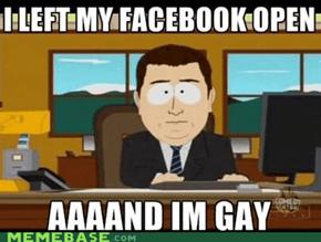 Aaaand I'm Gay