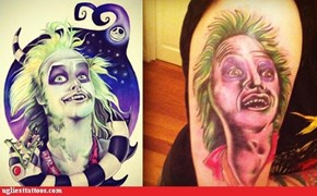 What Does Beetlejuice Have to do With the Tattoo?