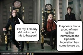 The Volturi Get an Unexpected Visitor