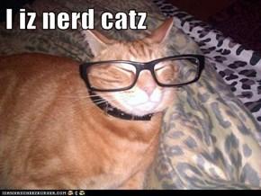I iz nerd catz