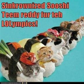 Sinkrownized Sooshi Teem reddy fur teh LOLympics!