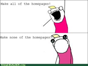Homepage Rage