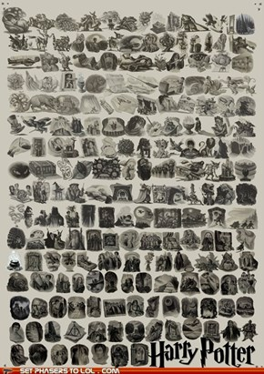 """Every Chapter Illustration from """"Harry Potter"""""""