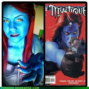 Mystique Cosplay.