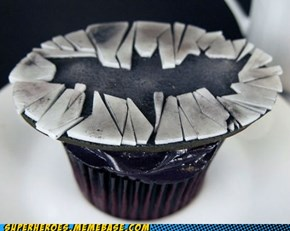 The Dark Knight Rises and Then Eats Cupcakes