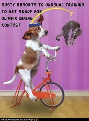 Kamp Olimpiks - biking event