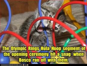 Lundun Olimpiks:  Hula Hoops