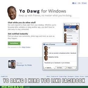 Facebook put a facebook in our facebook in our Windows.