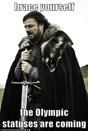 brace yourself  the Olympic statuses are coming