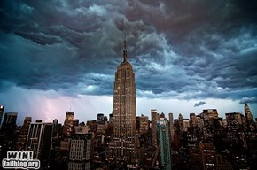 Mother Nature FTW: Storms Over New York