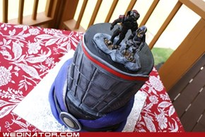 Mass Effect Wedding Cake