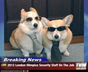 Breaking News - 2012 Lundun Olimpics Security Staff On The Job