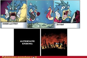 Destroyed Gyarados' World