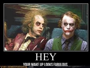 Who says Joker has no friends?