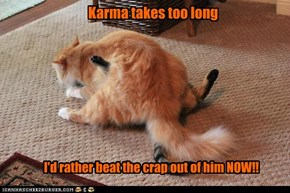 Karma takes too long