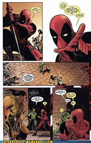 Deadpool reads Naruto.... BELIEVE IT!