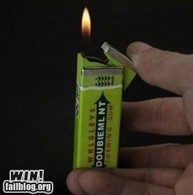 Bubblegum Lighter WIN