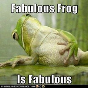 Fabulous Frog  Is Fabulous