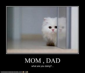 MOM , DAD