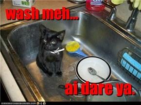 wash meh...