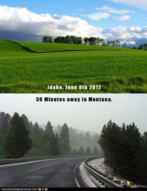 Weather in Montana/Idaho