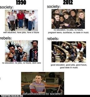 Dafuq Happened to Society?