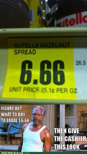 MothaF*cking Nutella B*tch!
